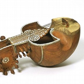 Musical instrument (sarinda), about 1850. Museum no. IM 67-1911, given by Mrs R Irvine