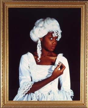 Maud Sulter, 'Terpsichore', 1992. Museum no. E.1795-1991, © Maud Sulter