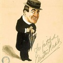 Caricature of Austin Rudd, George Cooke, about 1904. Museum no. S.392:53-2002