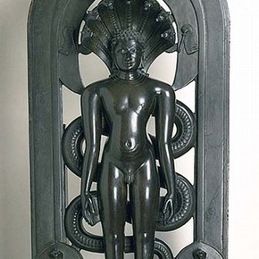 Parsvanatha, sculpture, Chakravarti Paloja, 12th century. Museum 