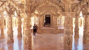 Interior of Temple at Dilwara, Raju Shah, 2006
