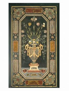 Pietre dure panel, about 1675. Museum no. 810-1869