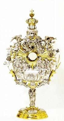 Monstrance, Germany, 1702. Museum no. M.3-1952