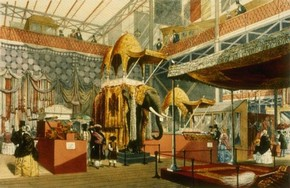 Indian Court at the Great Exhibition, 1851 by Joseph Nash, Museum no. 19536.11