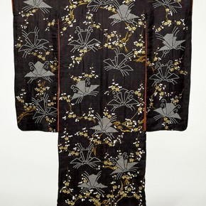 Kimono, Japan, early 19th century. Museum no. FE.28-1984