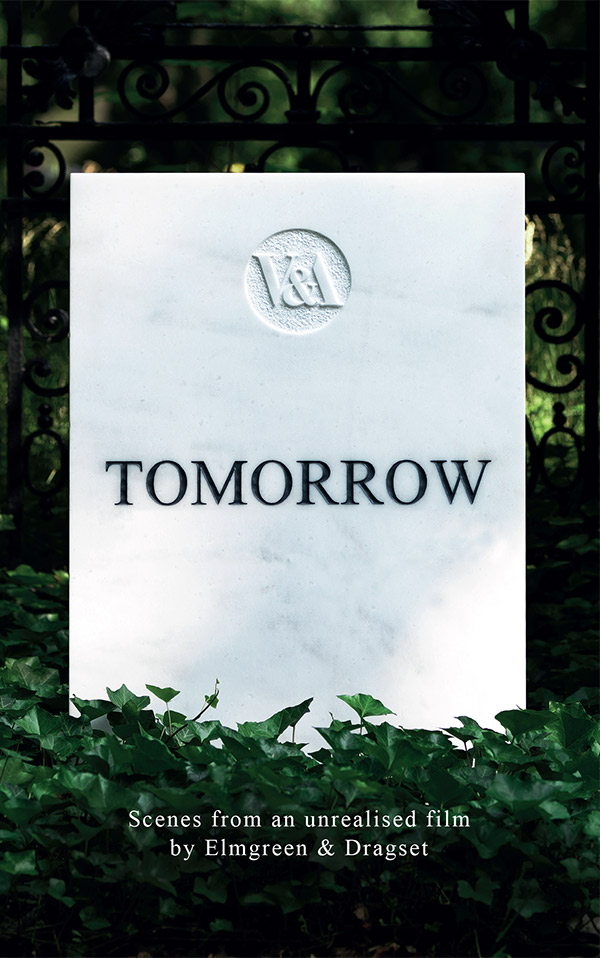 Cover of the script for 'Tomorrow'