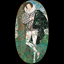 'Young Man Among Roses' by Nicholas Hilliard (1547–1619)