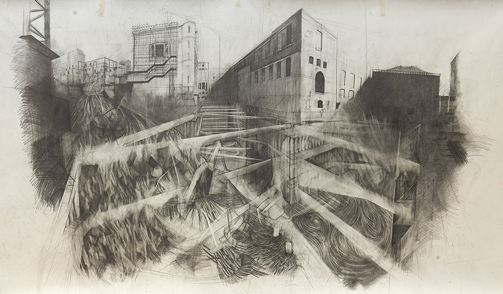 Exhibition Road Drawing Resident Liam Ou2019Connor - Victoria And Albert Museum