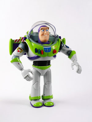 Buzz Lightyear, Thinkway Toys, New York, 1997 copyright Victoria and Albert Museum