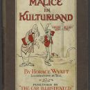 Malice in Kulturland Written by Horace Wyatt; illustrations by W. Tell
