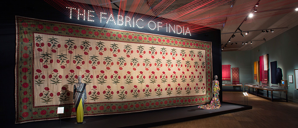Closed Exhibition - The Fabric of India