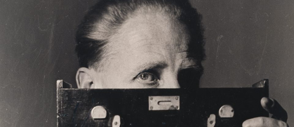 Portrait of Bill Brandt, Laelia Goehr, 1945  Bill Brandt Archive Ltd