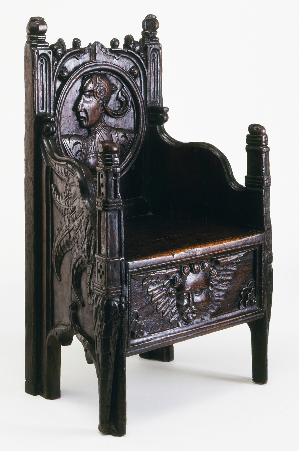 Armchair, Unknown Maker, About 1540. Museum No. W.59 1950
