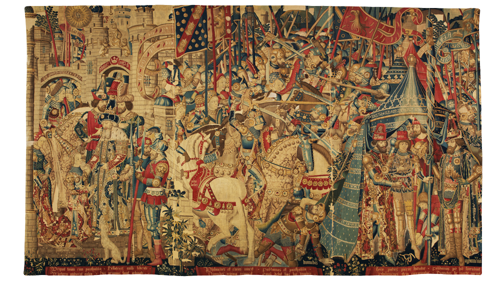 The War Of Troy Tapestry Victoria And Albert Museum