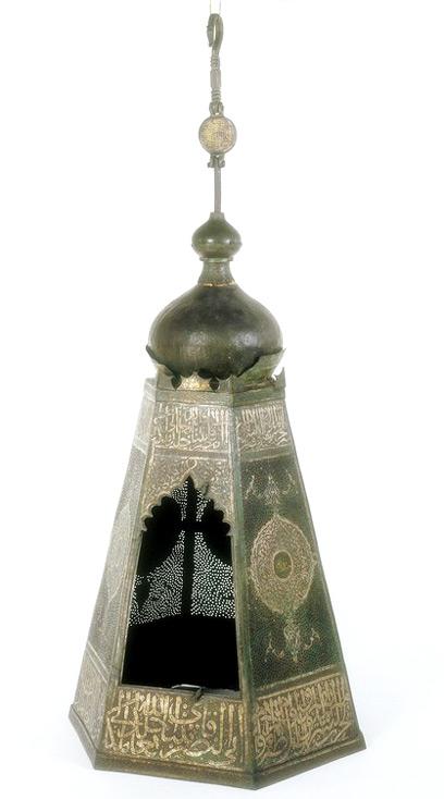Egyptian Lamp Holder, 1468 96. Museum No. 109 1888.