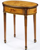 Writing Table, designed and made in the workshop of David Roentgen, 1780–5. Museum no. 1060-1882