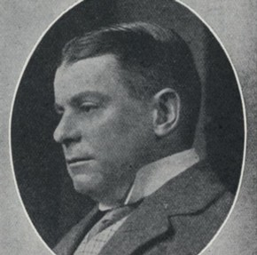 Charles B.Cochran, portrait in programme for his production The Miracle