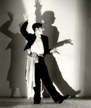 The Tango from Façade, commissioned by Camargo Society Ballet, black and white photograph, 1937