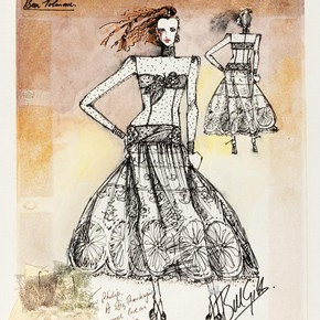 Clothing Designers Names 1920s To 1980s Fashion design by Bill Gibb