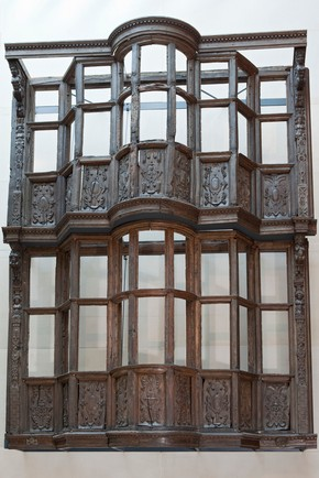 Wooden house façade, built by Sir Paul Pindar, Bishopsgate, London, England, UK, about 1599-1600. Museum no. 846-1890.
