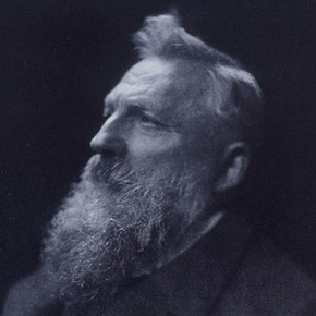 Portrait of Auguste Rodin, by H. Walter Barnett, 1902.