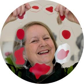 Dorothy Hogg MBE, Artist in Residence, 2008