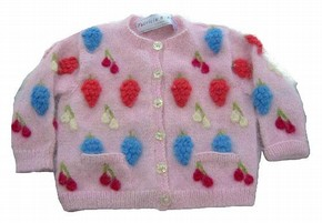Sugar plum children's cardigan, Patricia Roberts