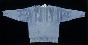Jumper, Artwork, Gottelier Ltd, 1991. Museum no. T.384-2001