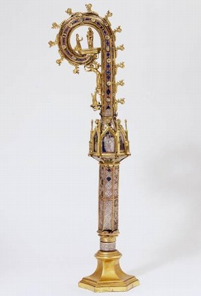 The Reichenau Crozier, 1351. Museum no. 7950-1862