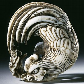 Netsuke, Shuosai, Japan, about 1800-1850. Museum no. A.63-1915