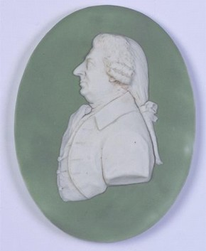 Portrait Medallion of James Stuart, Wedgwood and Bentley, after 1777. The Wedgwood Museum Trust, Barlaston, Staffordshire