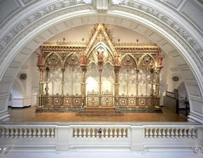Cathedral screen, George Gilbert Scott, 1862. Museum no. M.251-1984