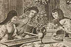 Neues Modelbuch, Rosina Fuerst, 1689, Nurnberg. Pressmark 95.O.6
