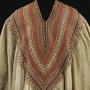 Woman's dress formerly in the possession of Queen Woyzaro Terunesh, 1860s. Museum no. 399-1869