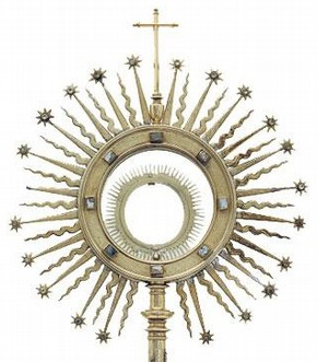 Monstrance, about 1630. Museum no. M.36-1923