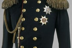 Coronation uniform of Alexander II, 1855, Museum no. TK-1988, © The Moscow Kremlin Museums