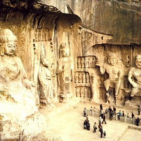 Longmen Cave 19 view, China. ©John Huntington