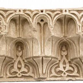 Nasrid plasterwork figure 3