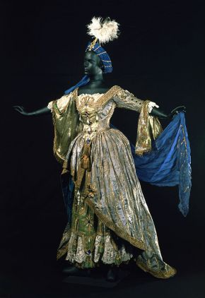 Costume for Prévost worn by Adeline Genée in La Danse, designed by Wilhem, New York, 1912. Museum no. S.1460-1982