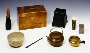 Travelling Tea Service, Japan, 19th century. Museum no. M.39-1965, © Victoria and Albert Museum, London