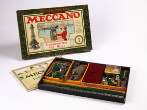 Meccano Construction Set No.1, Meccano Ltd England, 1920-29 copyright Victoria and Albert Museum