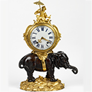 Table clock, Philippe Caffieri, about 1745, France (Paris), ormolu. Museum no. 1008:1-1882, © Victoria and Albert Museum, London