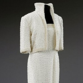 State evening ensemble 'Elvis Dress' for Princess Diana by Catherine Walker, 1989. Museum no. T.1-2006. Given by the Franklin Mint