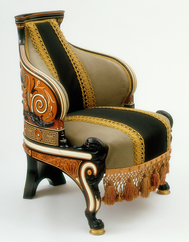 Style guide classical and renaissance revival victoria for 1980s chair design