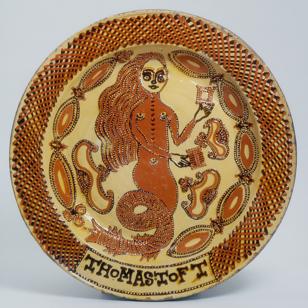 Image result for 18th century slip pottery sgraffito