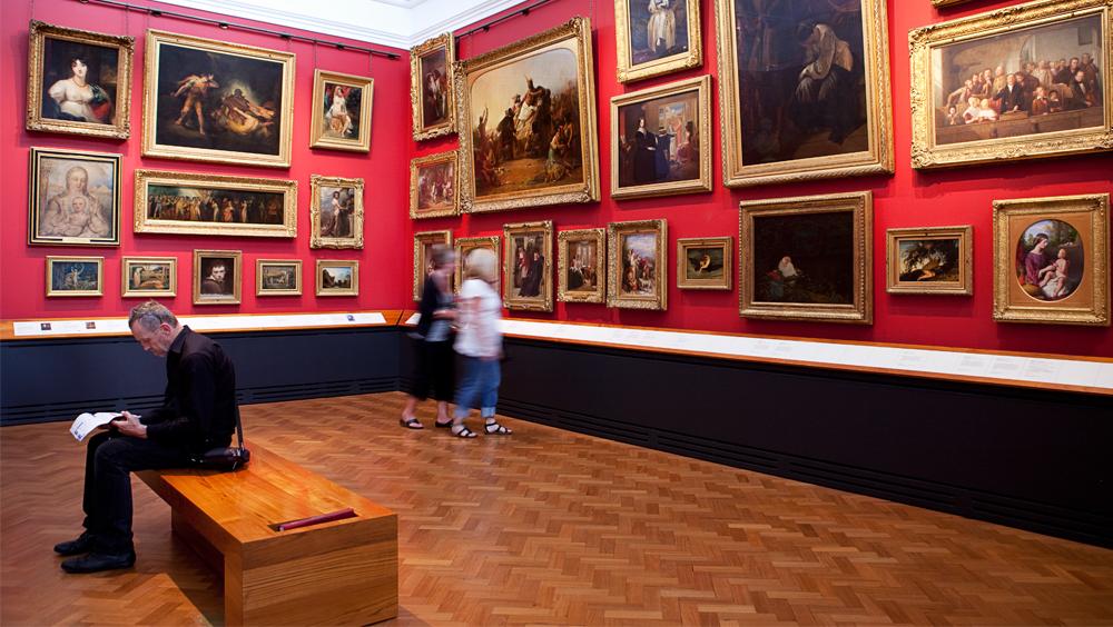refurbishment of the paintings galleries 2003 victoria and albert
