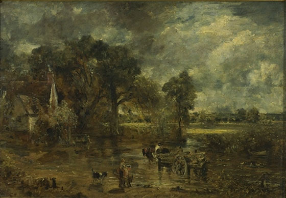john constable s the haywain John constable's work transformed the genre of landscape painting and john constable – an introduction full scale study for the haywain, oil painting, john.