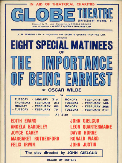 the importance of being earnest victorian values