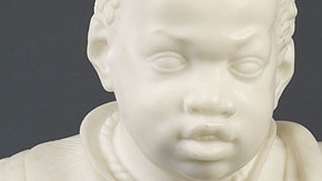 Bust of a Black Boy, Attributed to Joannes Claudius de Cock, 1705-10
