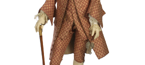 Interactive: Man's French Silk Formal Suit, by Unknown Maker, 1765 - 70